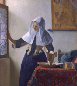 Jan Vermeer, Young Woman with a Water Jug