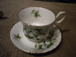 Trillium Tea Cup (before)