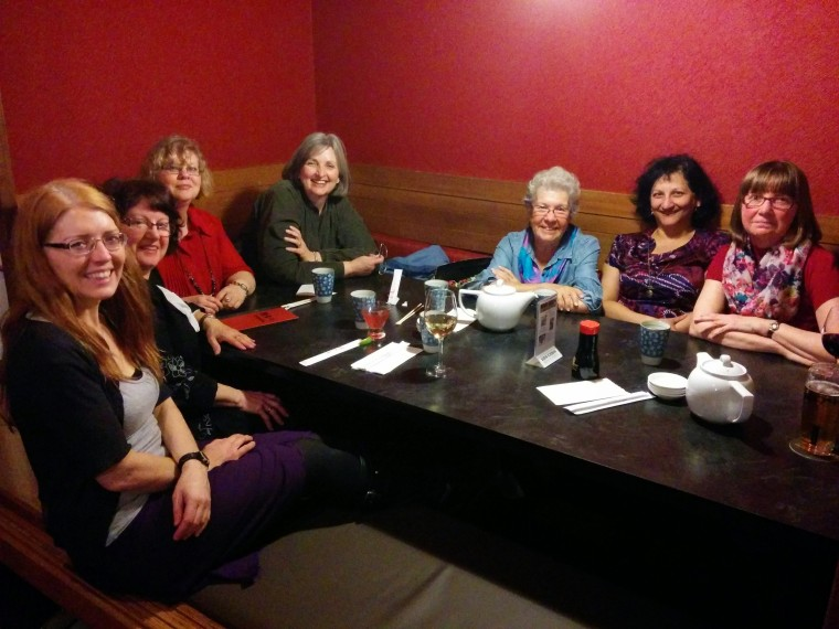 VIRA ladies at Koto's