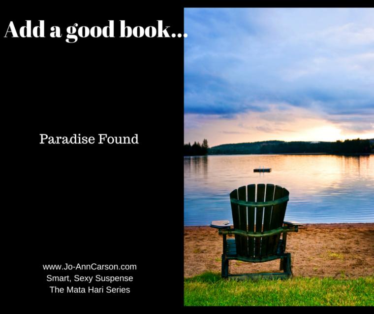 Add a good book...