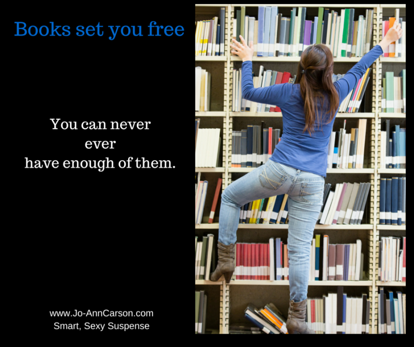 Books set you free