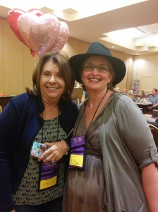 Jennae Vale and me in Palm Springs (InD'scribe Conference 2015)