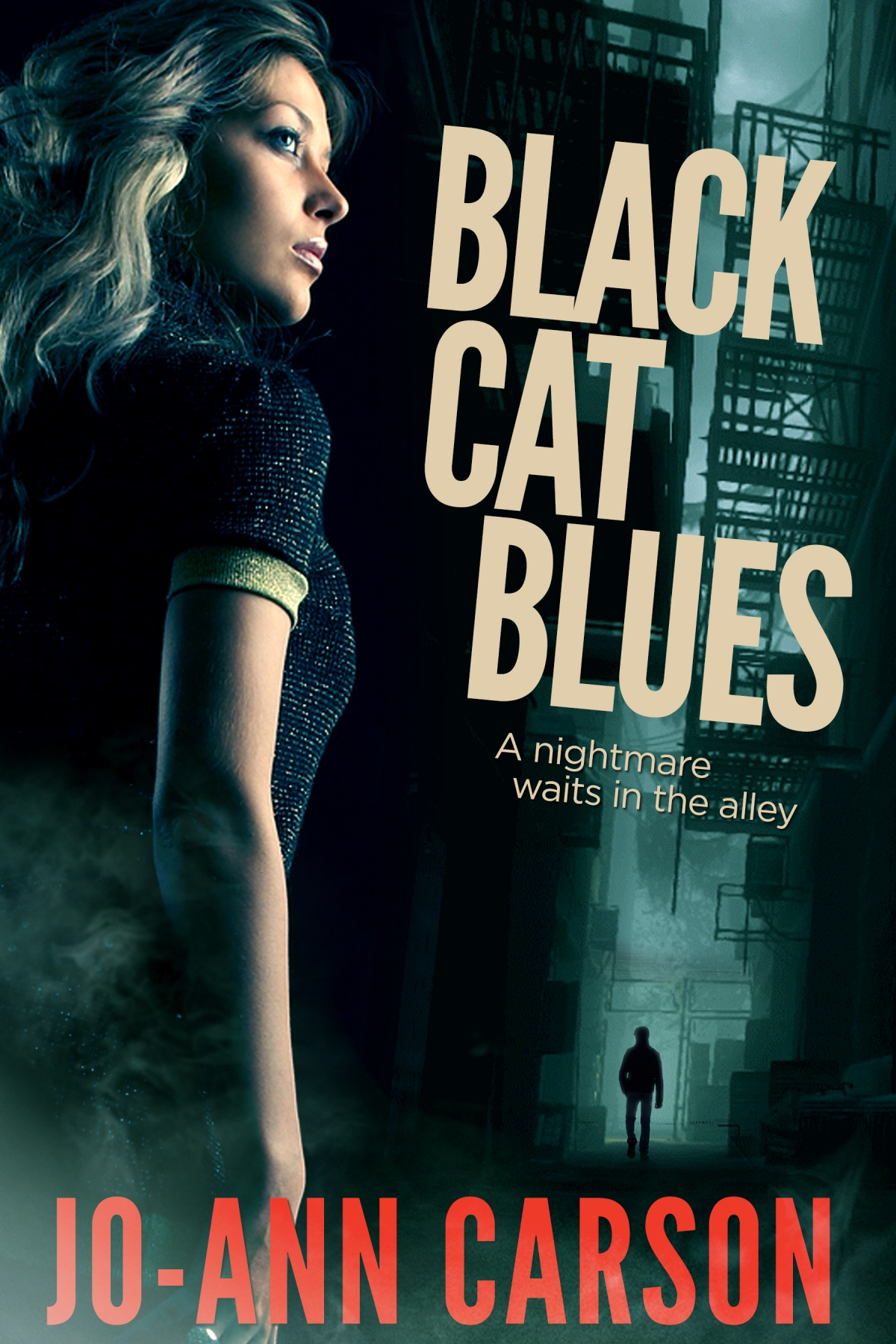 My Cover Release – Black Cat Blues, Vancouver Blues #Suspense Series, #1