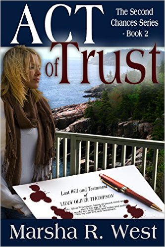 Act of Trust – a new book by Marsha R West #911 #review