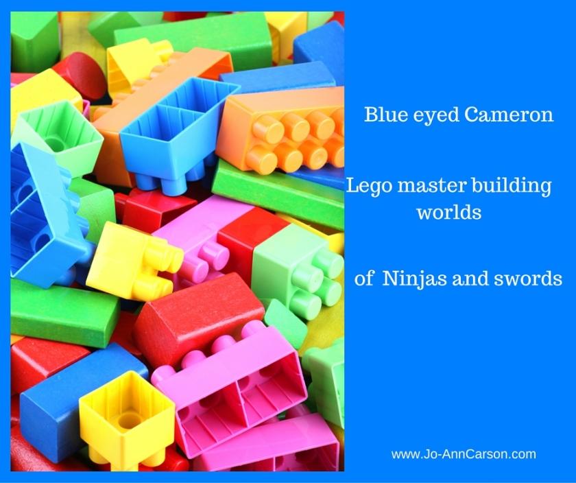 Blue eyed Cameron