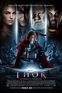 Thor is a 2011 American superhero film based on the Marvel Comics character of the same name