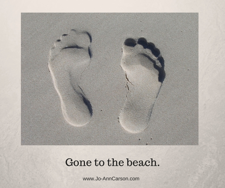 Gone to the beach.