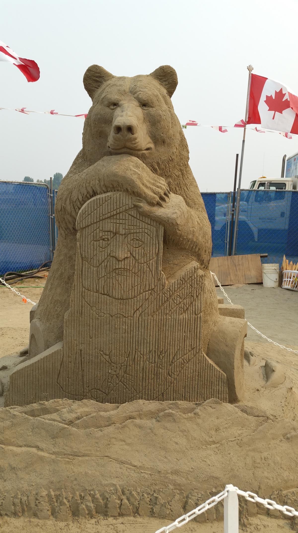 Parksville Sandsculpting Competition 2017 #Mondayblogs#Canada150