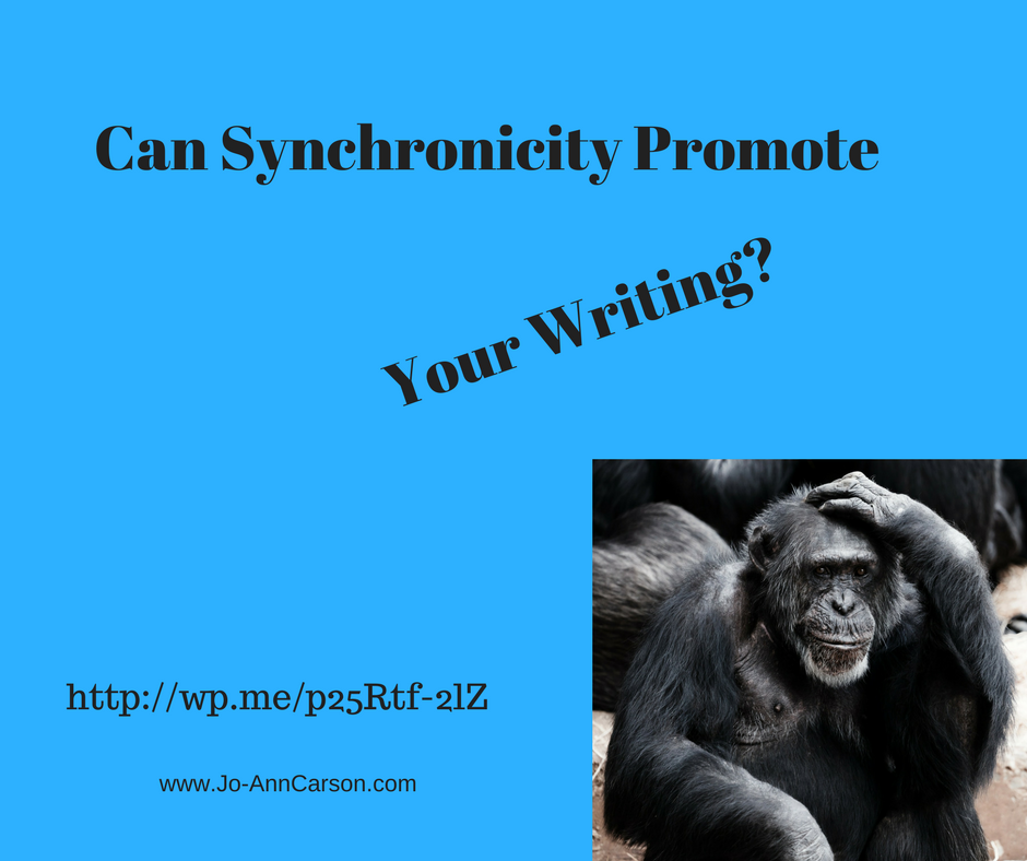 Can Synchronicity Promote Your Writing? #writing life