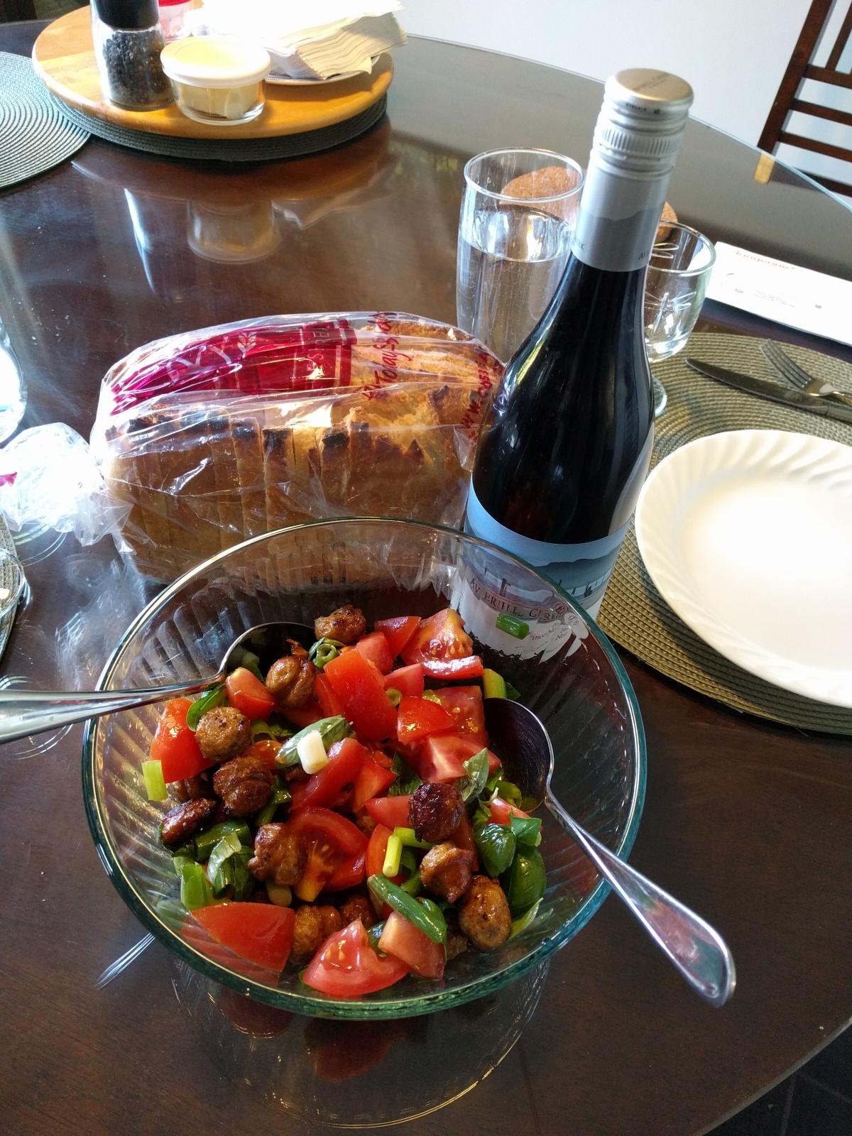 A Tomato Chorizo Salad to DieFor
