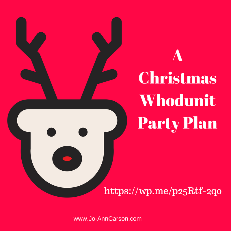 Christmas Whodunit Party – Part 4 – Enter Agatha the Nosy Neighbor #Mondayblogs