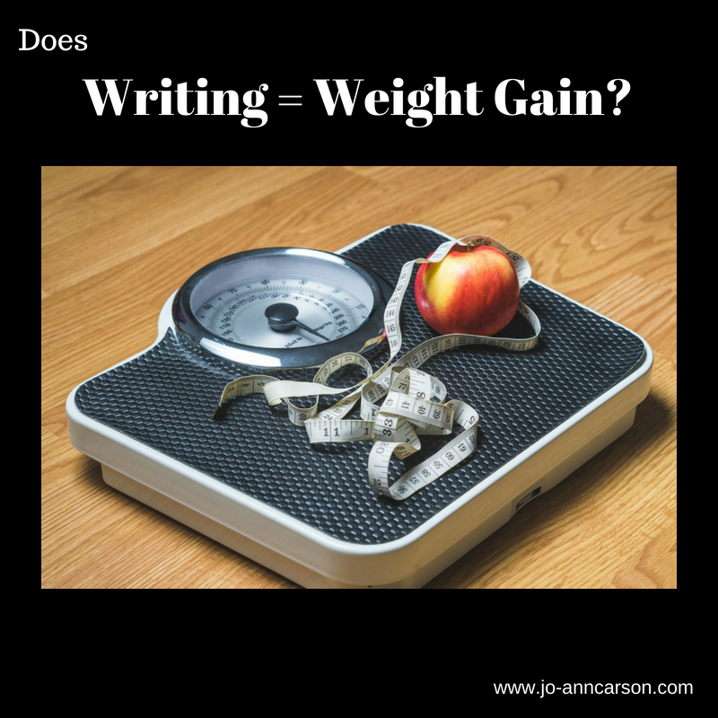 Writing = Weight Gain? #Mondayblogs