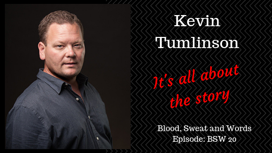 Kevin Tumlinson's #1 Writing Tip
